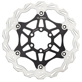 Clarks Lightweight Disc-Rotor 6-loch black